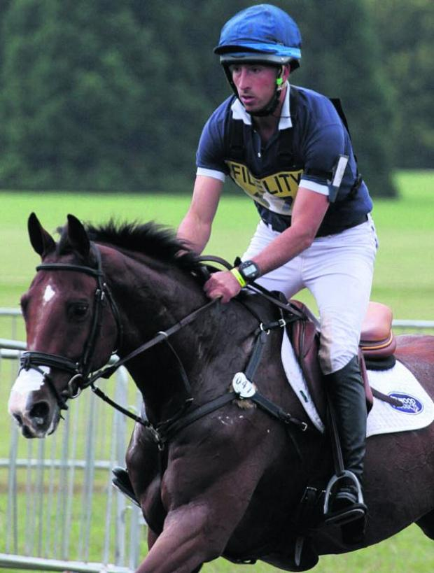 This Is Wiltshire: Tim Price is in the New Zealand squad for this summerr's World Equestrian Games