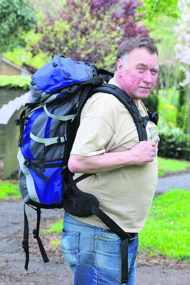 This Is Wiltshire: Jim Archer, who has been forced to postpone his trek after a member of his team broke his arm