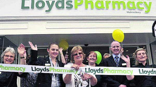 This Is Wiltshire: Marion Burfield opens the revamped LloydsPharmacy