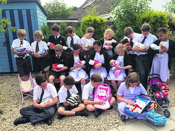 This Is Wiltshire: Beckington pupils