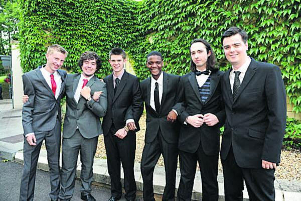 This Is Wiltshire: Year 13 St Augustine's Catholic College students at their prom