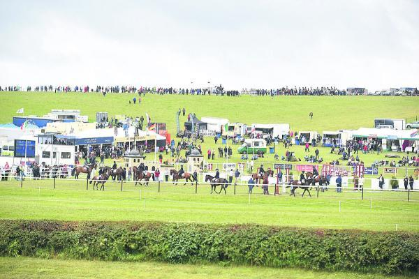 This Is Wiltshire: Thrills and spills at Barbury horse trials