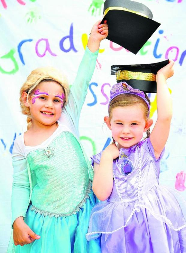 This Is Wiltshire: Youngsters mark time at nursery with graduation