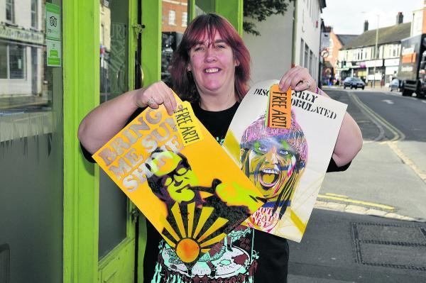 This Is Wiltshire: Sarah Harris is organising Free Art Friday in Swindon