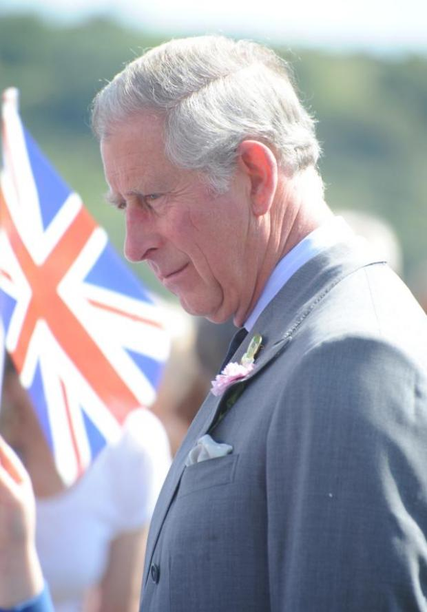 This Is Wiltshire: Prince Charles. Picture by Jodie Henderson Calyx