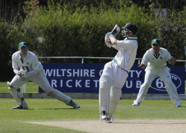 This Is Wiltshire: Henry Langford helped guide Wiltshire to victory at Berkshire today