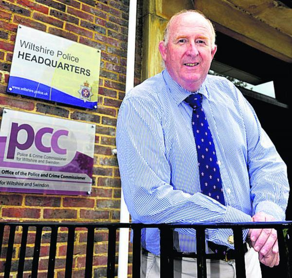 This Is Wiltshire: Police and Crime Commissioner Angus Macpherson is returning to work after a cardiac arrest. Picture by Siobhan Boyle