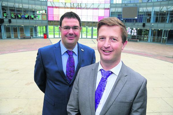 This Is Wiltshire: Nova Hreod new principal Darren Barton and executive principal Ben Parnell