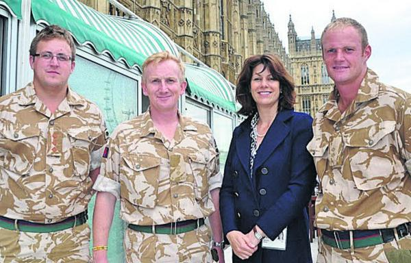 This Is Wiltshire: Devizes MP Clair Perry has welcomed almost £3m of Government funding to support higher education and local employment training for Armed Forces service leavers and others