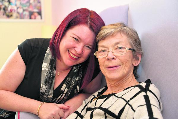 This Is Wiltshire: Amanda Franks and her mother Cathy Davidson