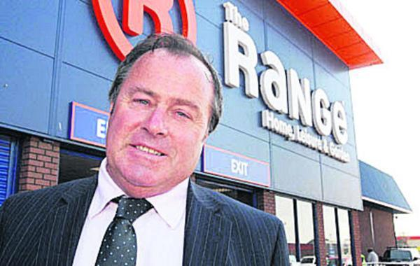 This Is Wiltshire: Chris Dawson, founder of The Range, wants to build a distribution centre in Chippenham