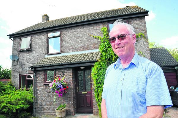 This Is Wiltshire: Derek Lowson, the chairman of  Westlea Residents' Association, which has reformed after 25 years