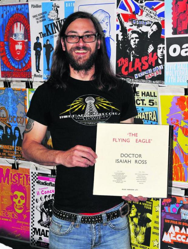 This Is Wiltshire: Record fair organiser, Russell Webb