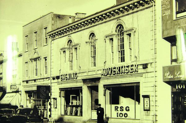 This Is Wiltshire: The Swindon Advertiser building in Victoria Road back in its heyday