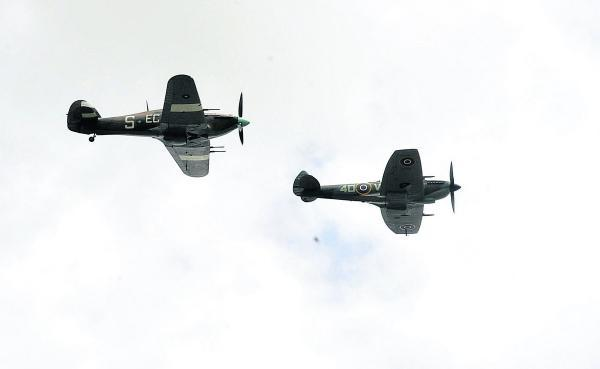 This Is Wiltshire: The Battle of Britain flypast