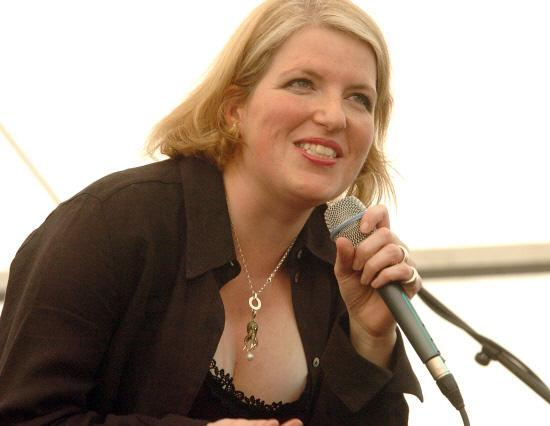 This Is Wiltshire: Clare Teal in action at Marlborough Jazz Festival in 2012. Picture by Paul Morris