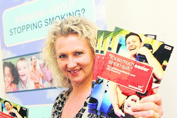 This Is Wiltshire: Cherry Jones, the acting director of public health, who previously led  campaigns to encourage people to give up smoking, tackle obesity and be more aware of the dangers of alcohol, says there are no quick fixes for the town's health problems