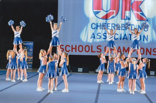 This Is Wiltshire: Highworth Warneford's cheerleaders came second in the national championsh