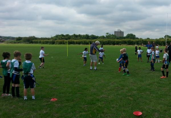This Is Wiltshire: Shaw Ridge were the most successful school at a recent tag rugby tournament