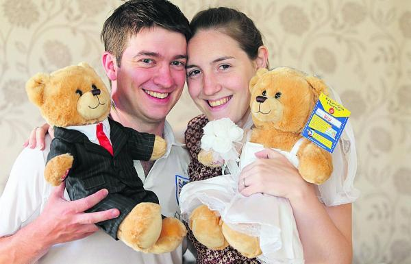 This Is Wiltshire: We're just zipping out to get married