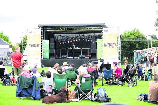 This Is Wiltshire: Stones go centre stage at Avebury Festival