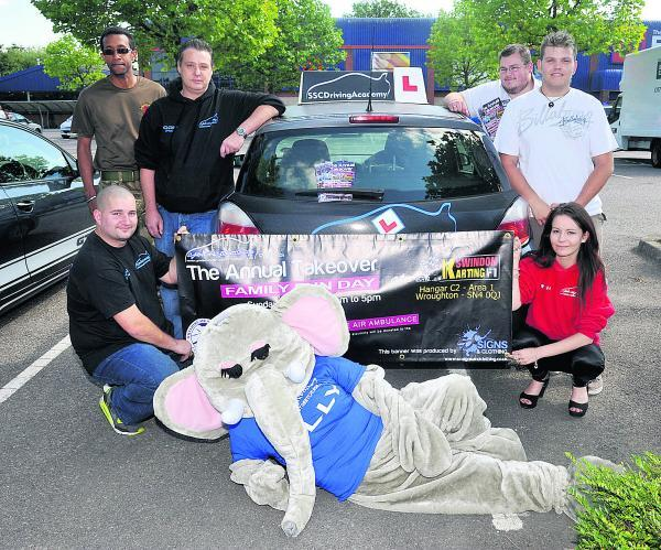This Is Wiltshire: Swindon Street Cruise members who are holding a fundraiser for Wiltshire Air Ambulance