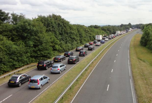 This Is Wiltshire: A420 reopens with roadworks completed a week early