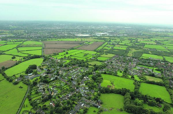 This Is Wiltshire: The Eastern Development Area with Wanborough in the foreground