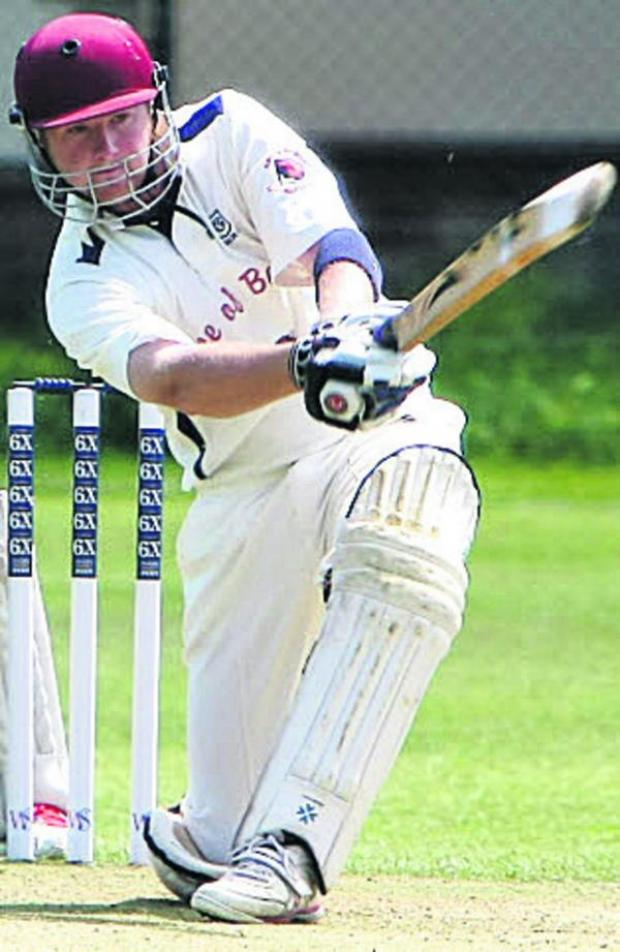 This Is Wiltshire: Toby Horton hit a half-century in Goatacre's defeat to Thornbury