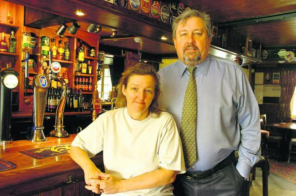 This Is Wiltshire: Steve and Nicky Wragg plan to create new bedrooms at the Green Dragon  (PM131) By Paul Morris