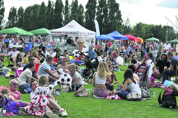This Is Wiltshire: Sun shines on Party in the Park