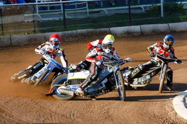 This Is Wiltshire: Peter Kildemand in action at Belle Vue