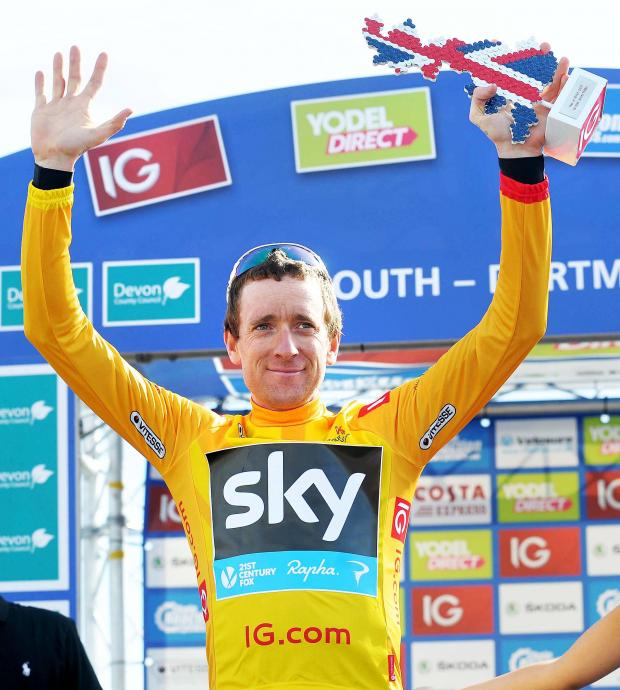 This Is Wiltshire: Sir Bradley Wiggins was the 2013 Tour of Britain winner