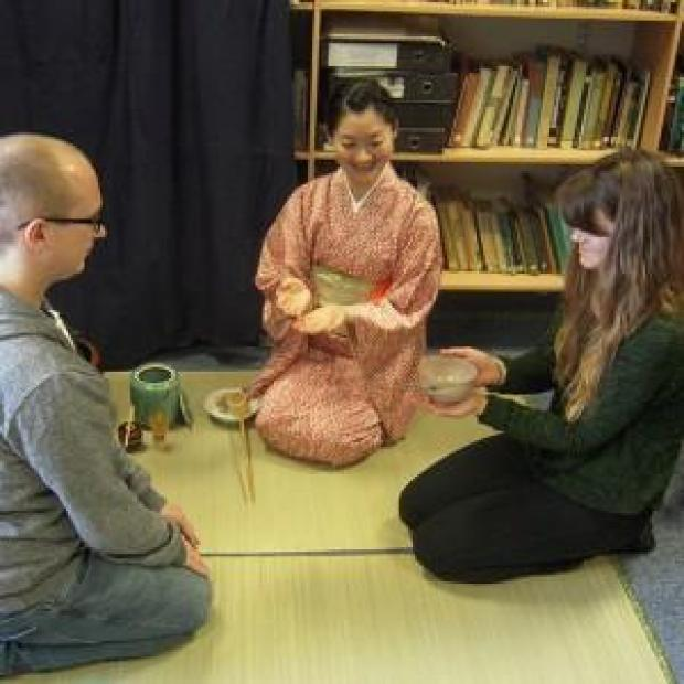 This Is Wiltshire: A Japanese tea ceremony