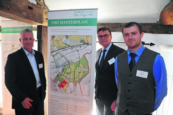 This Is Wiltshire: Robert Clarke of Earlscourt and  Liam Kenyon of Ainscough Strategic Land