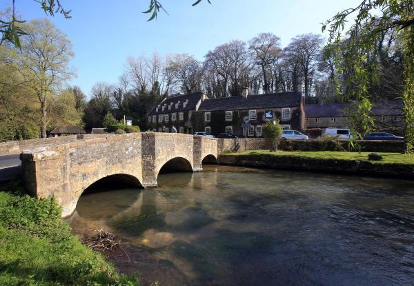 This Is Wiltshire: The River Coln in Bibury, where Helen Jones drowned in April