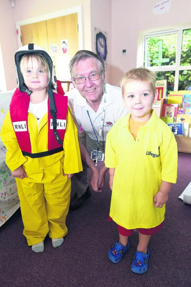 This Is Wiltshire: Safety at the seaside for Lavington Pre-school
