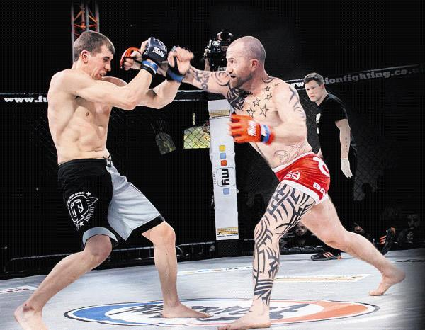 This Is Wiltshire: Deaf cage fighter Adam Evans has signed a 12-month contract with Fusion Fighting Championship