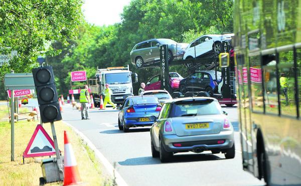 This Is Wiltshire: 'Nightmare' as A420 bypass closes