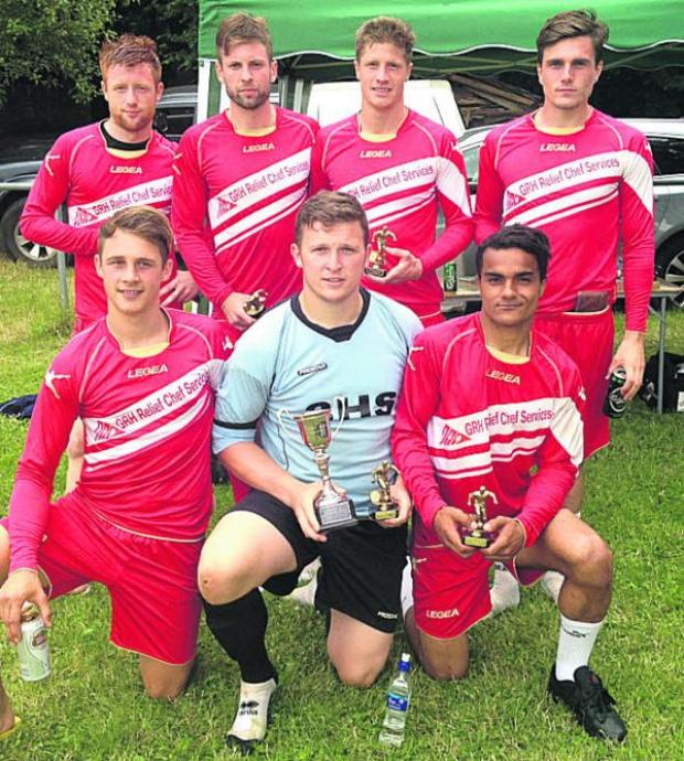 This Is Wiltshire: Freshford tournament cup winners Bradley Boys