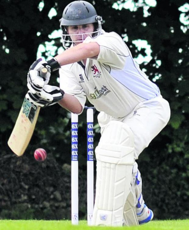 This Is Wiltshire: Michael Papps made a half-century in Burbage's victory over Marlborough