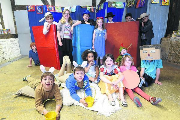 This Is Wiltshire: Rag and Bone Arts brings a Storybook Adventure to the Yelde Hall