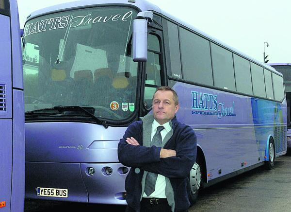 This Is Wiltshire: Adrian Hillier, of Hatts Travel. The company is to announce at noon today it has ceased trading
