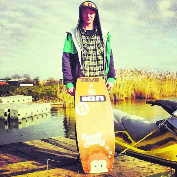 This Is Wiltshire: Wakeskating champion James Harrington now features in the Guinness Book of World Records