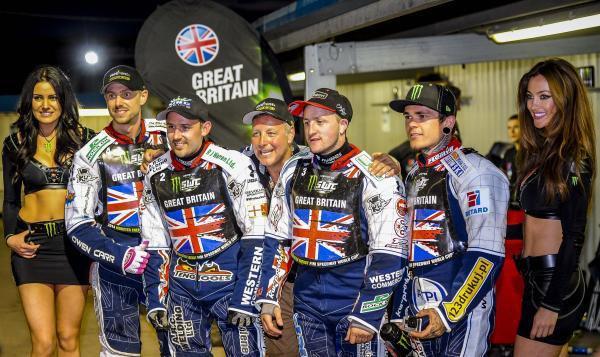 This Is Wiltshire: The victorious Britain team PICTURE BY MATTHEW USHER