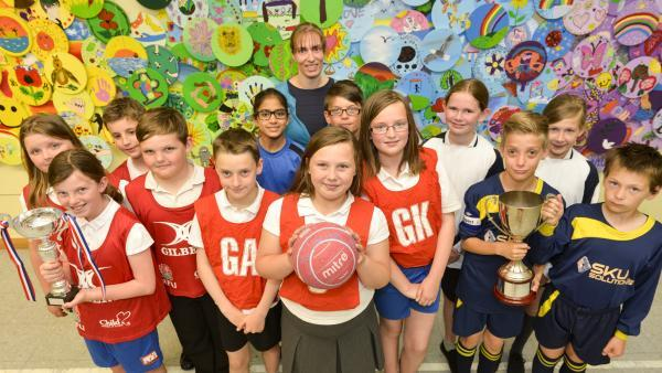 This Is Wiltshire: Catherine Wayte have enjoyed a successful sporting year