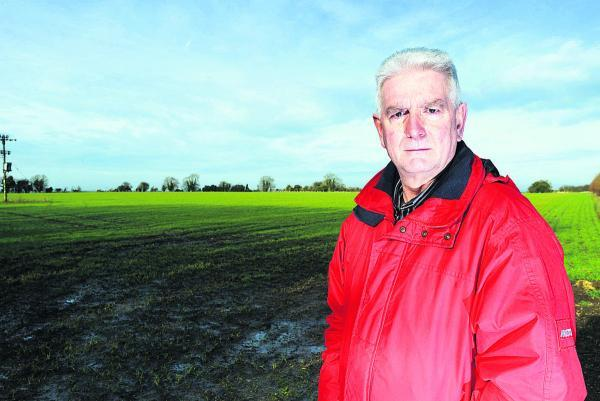 This Is Wiltshire: Blunsdon Parish Council chairman Ian Jankinson, who is urging residents in the Redhouse area to join