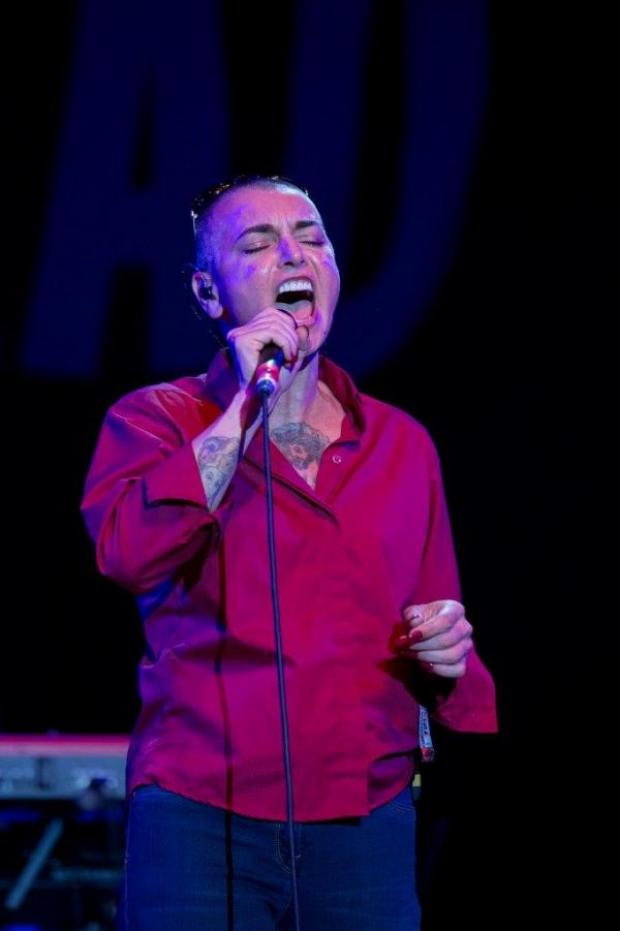 This Is Wiltshire: Sinead O'Connor at WOMAD