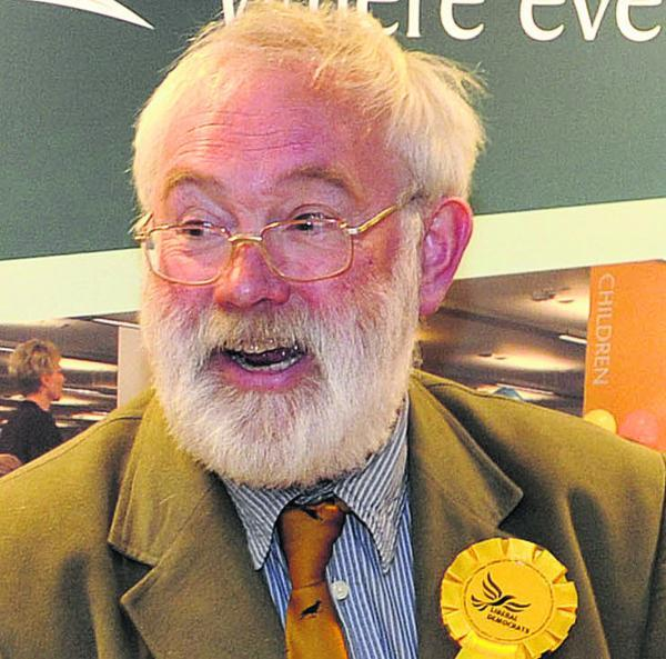 This Is Wiltshire: Coun Magnus Macdonald, Wiltshire Lib Dems' spokesperson for transport and highways