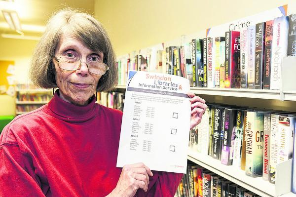 This Is Wiltshire: Shirley Burnham of Save Old Town Library group